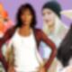 Frauen Collage Madonna/Whitney/Gwen/Cher